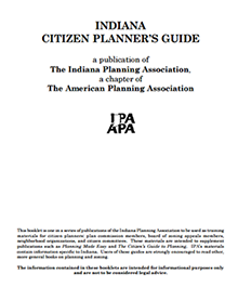 Indiana Citizen Planner Guide